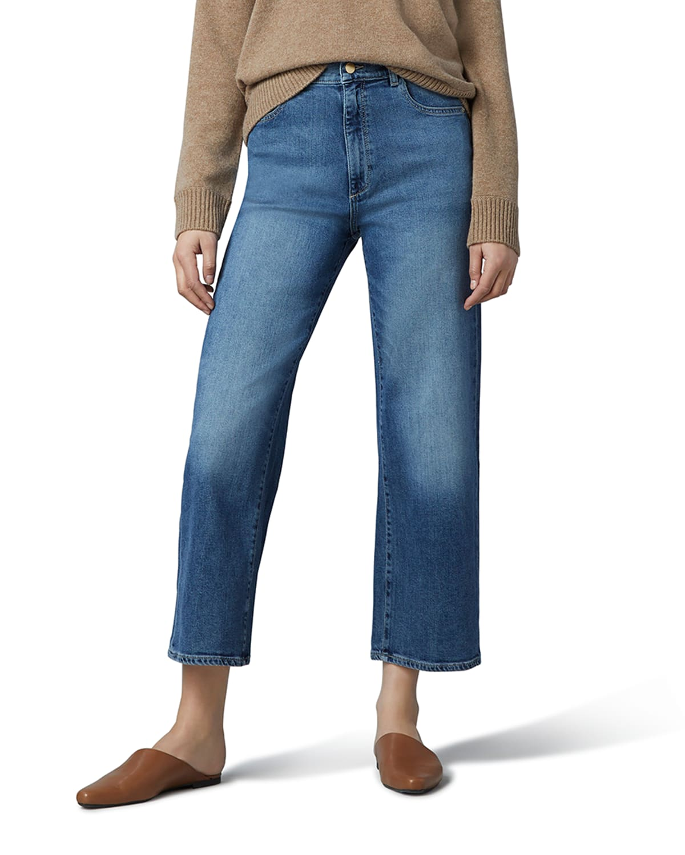 Hepburn Wide-Leg High-Rise Vintage Jeans
