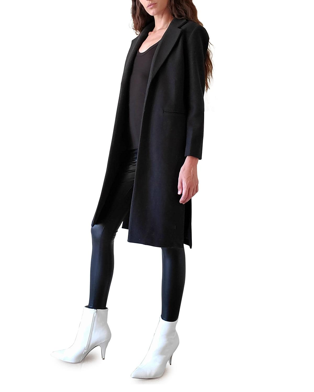 Ari Mid-Length Vegan Wool Jacket