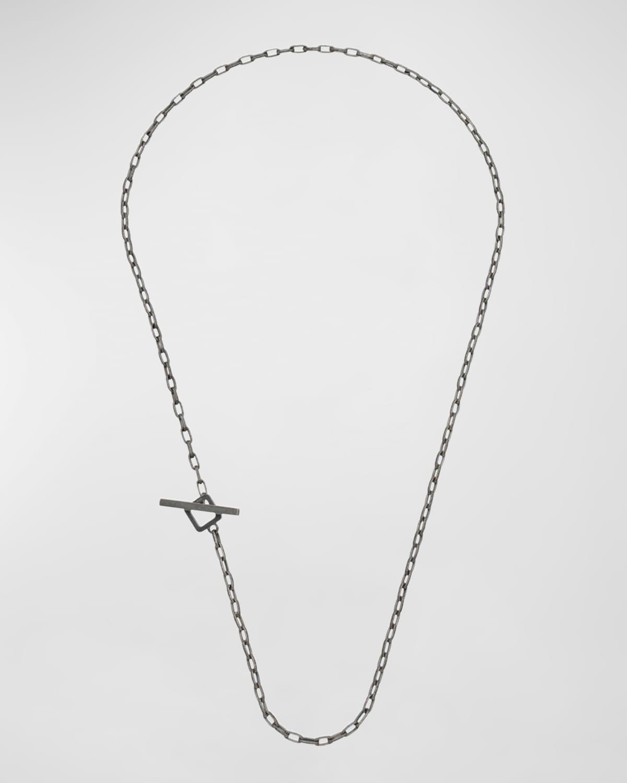 Handmade Oxidized Silver Necklace