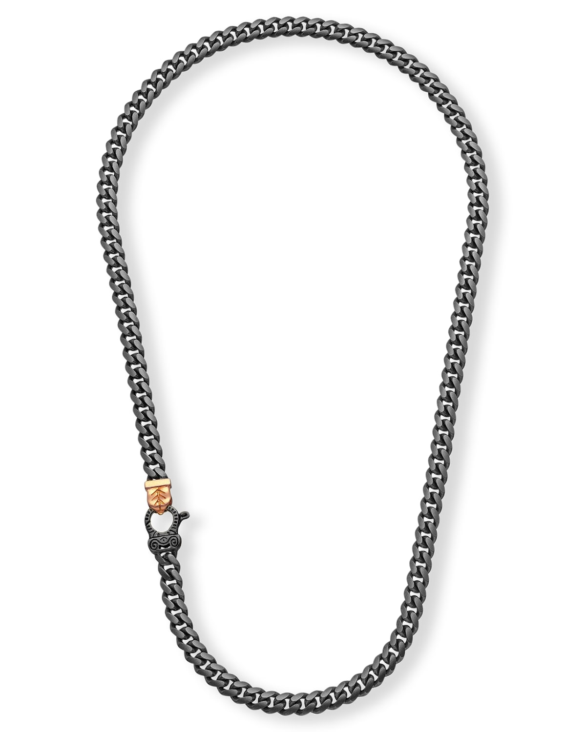 Flaming Tongue Link Necklace