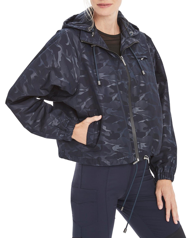 Enya Camo Embossed Short Jacket