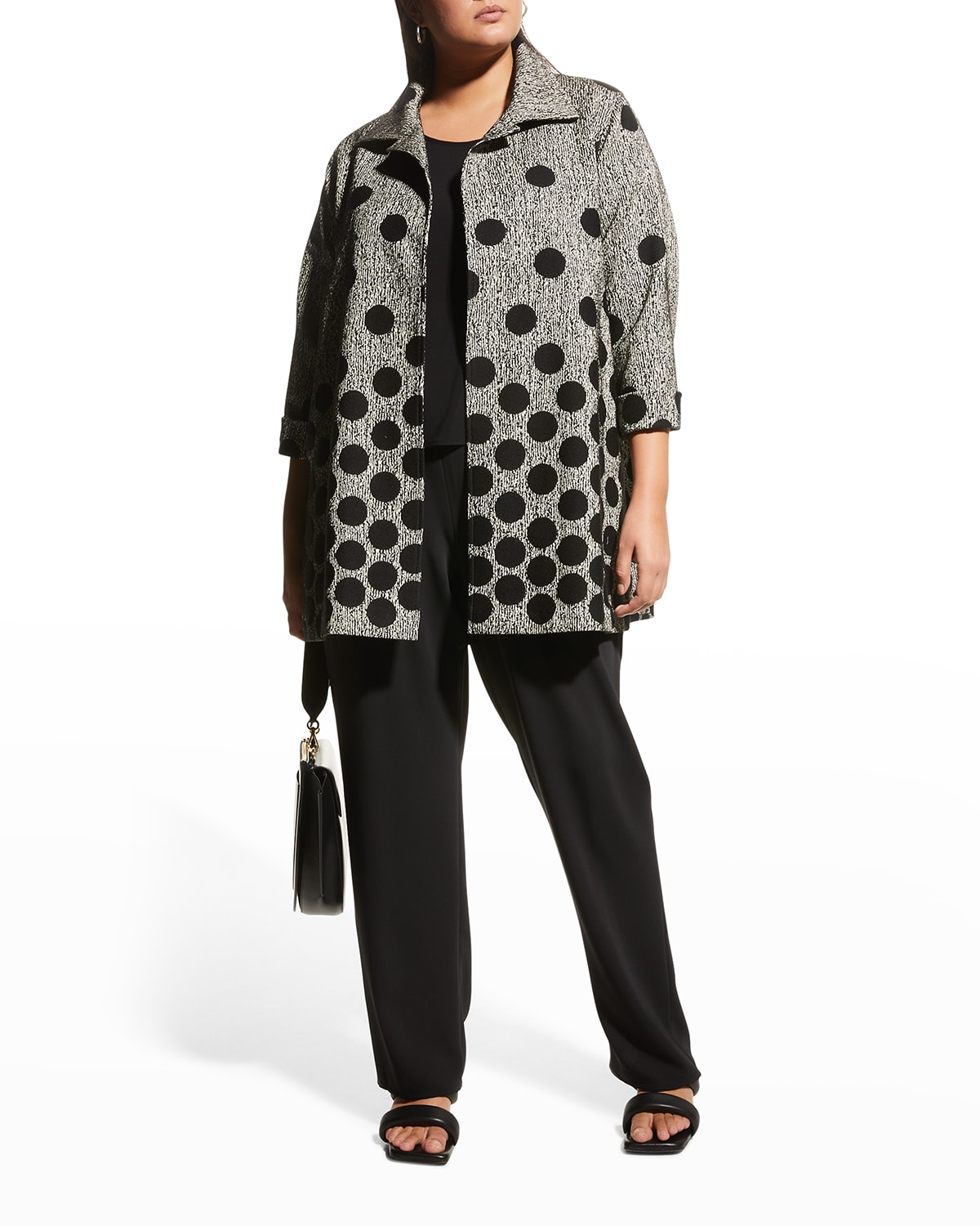 Plus Size Fall for It Jacquard Party Jacket