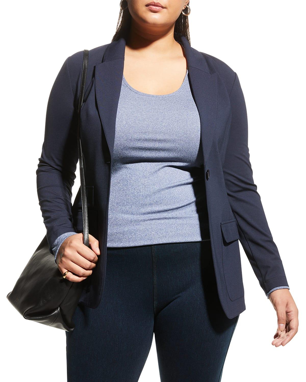 Plus Size Hailey Triple Pocket Jacket