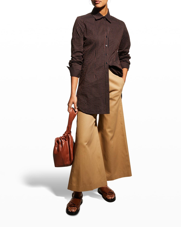 Kaylynn Textured Stripe Tunic