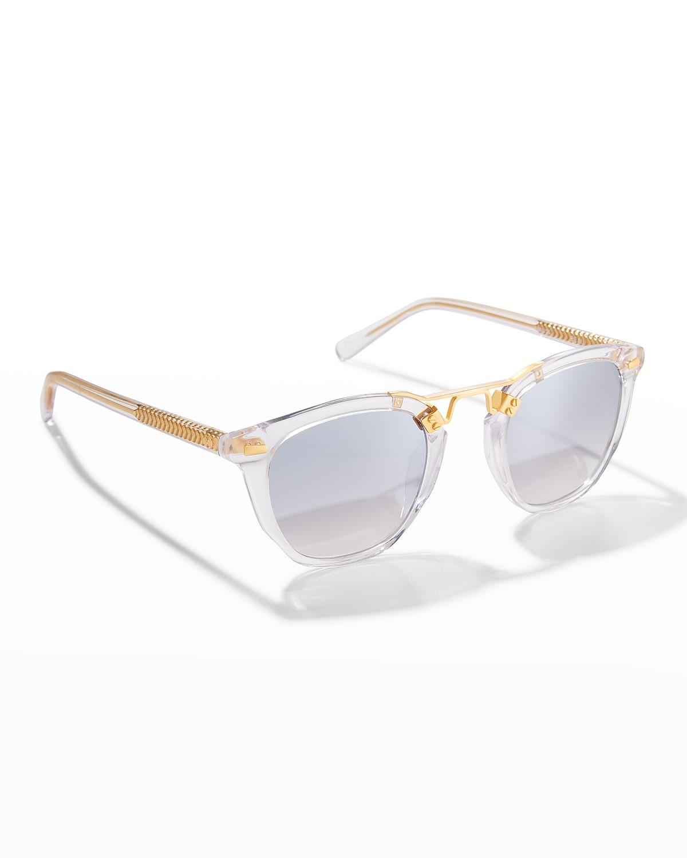 Beau Square Acetate Sunglasses