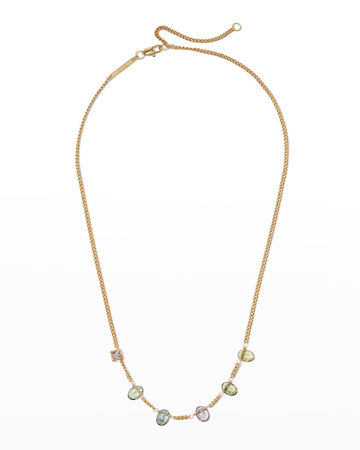 Asterales Stone Studded Necklace