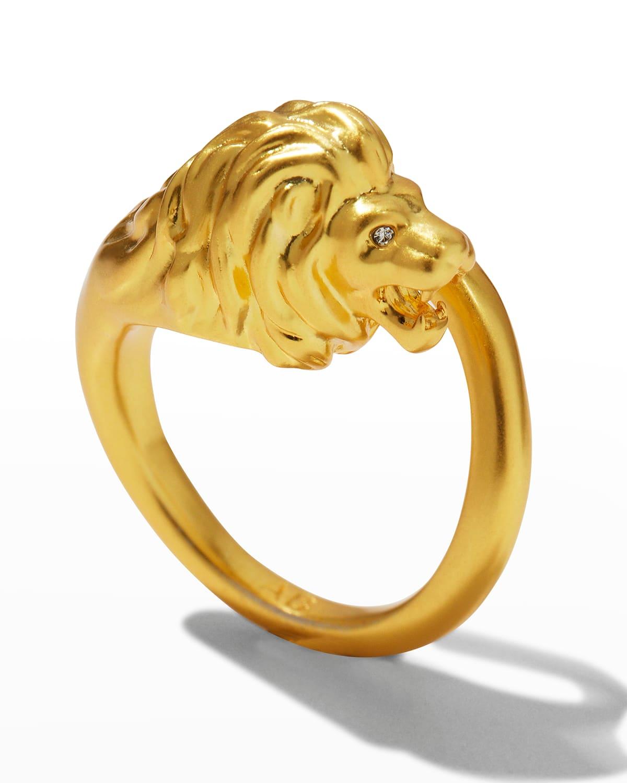 Valor Lion Ring