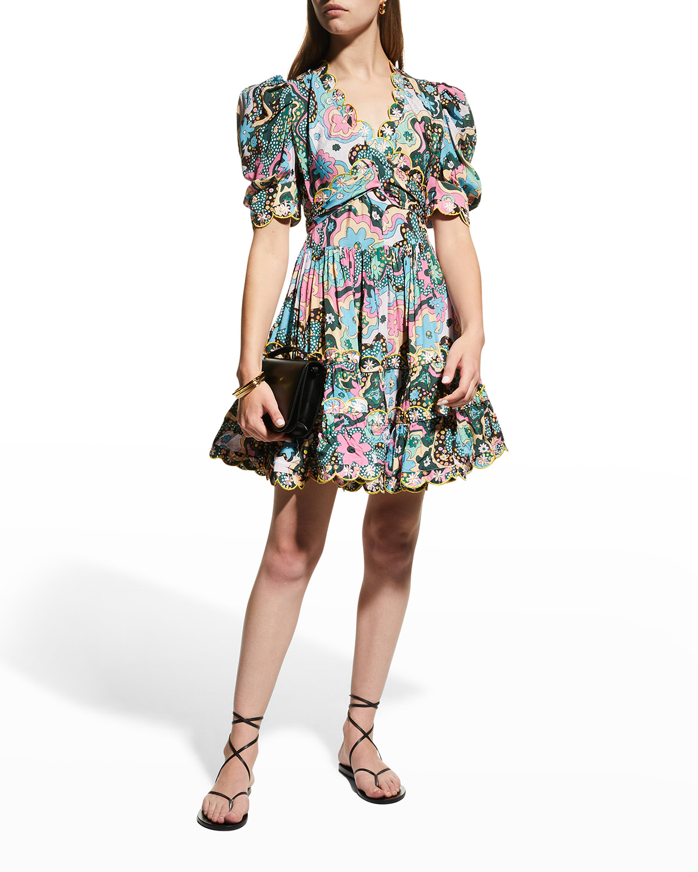 Hortensia Belted Mini Dress