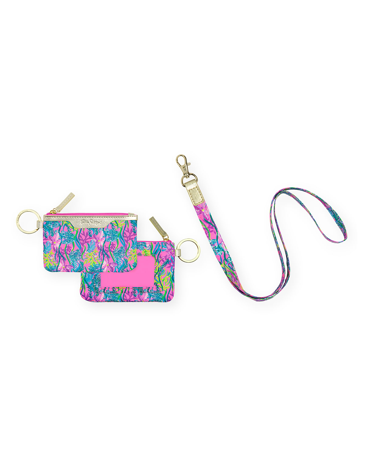 Party All The Tide Lanyard & ID Case Set