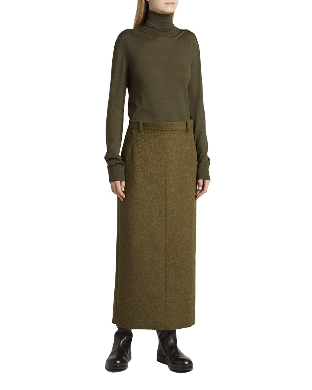 Luun Maxi Wool Skirt