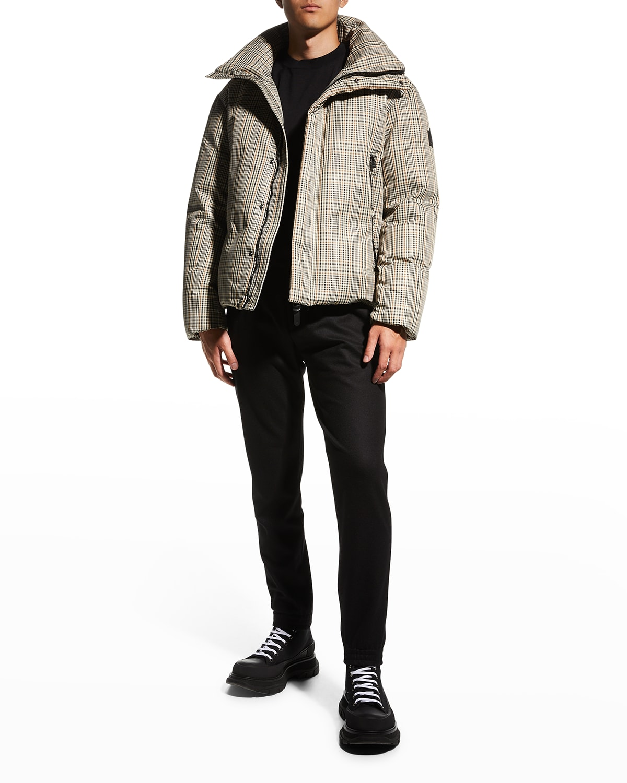 Men's Davis Cloud Plaid Puffer Coat