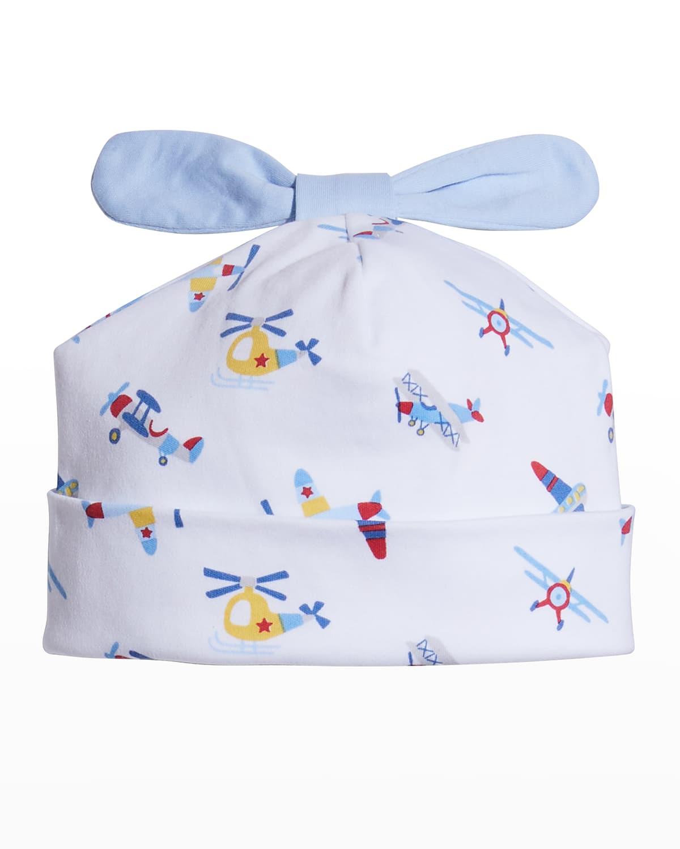 Boy's Just Plane Fun Baby Hat