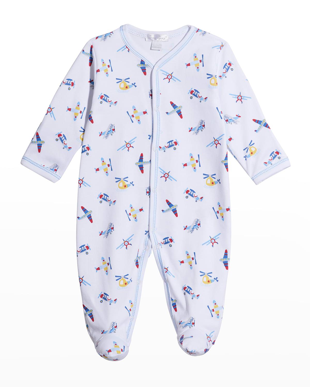 Boy's Just Plane Fun Footie Pajamas