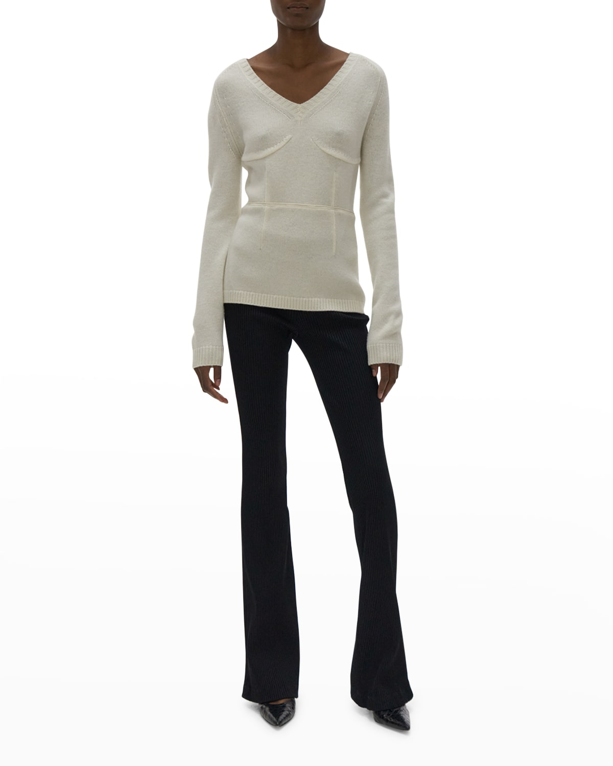 Structured Wool Pullover