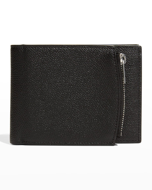 Men's Four Stitch Zip Wallet