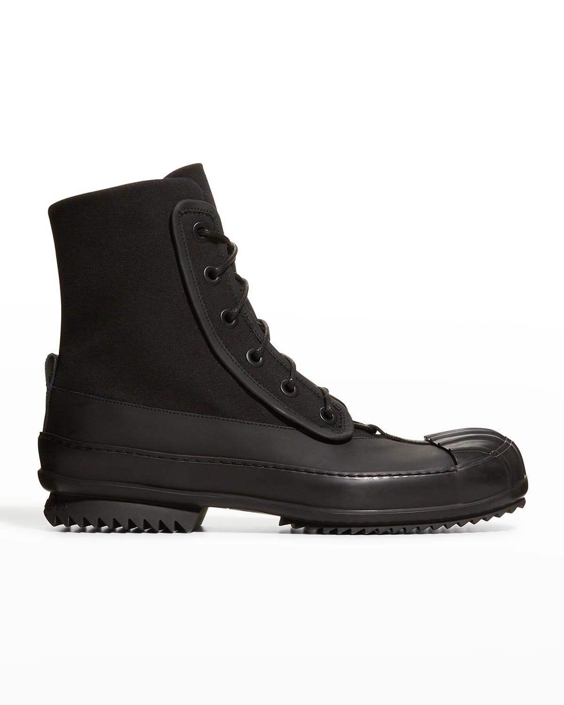 Men's Tonal Lace-Up Duck Boots