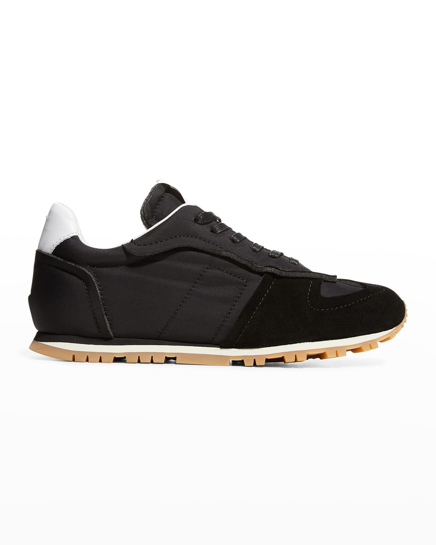 Men's Evolution Mix-Leather Runner Sneakers