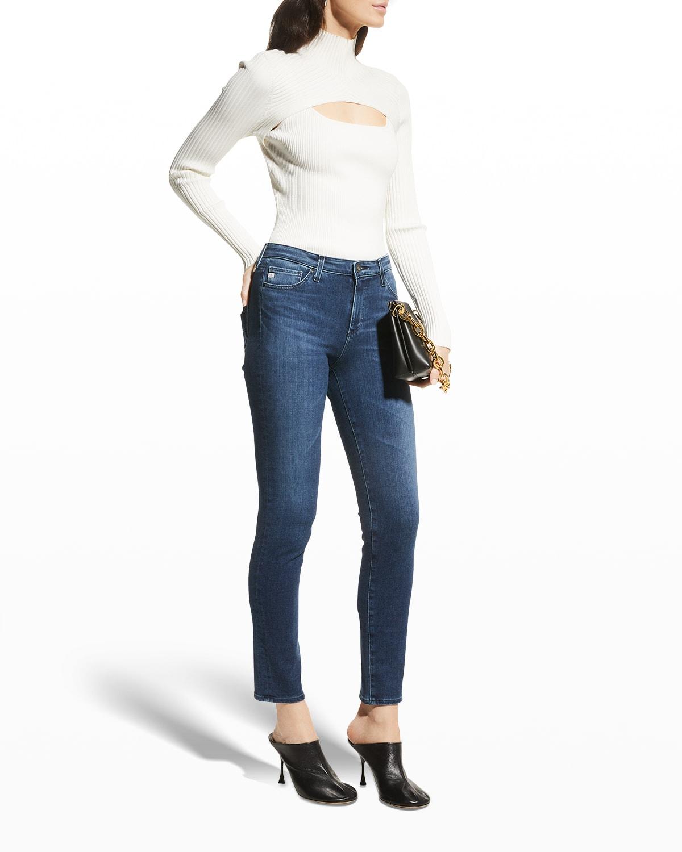 Prima Mid-Rise Ankle Cigarette Jeans