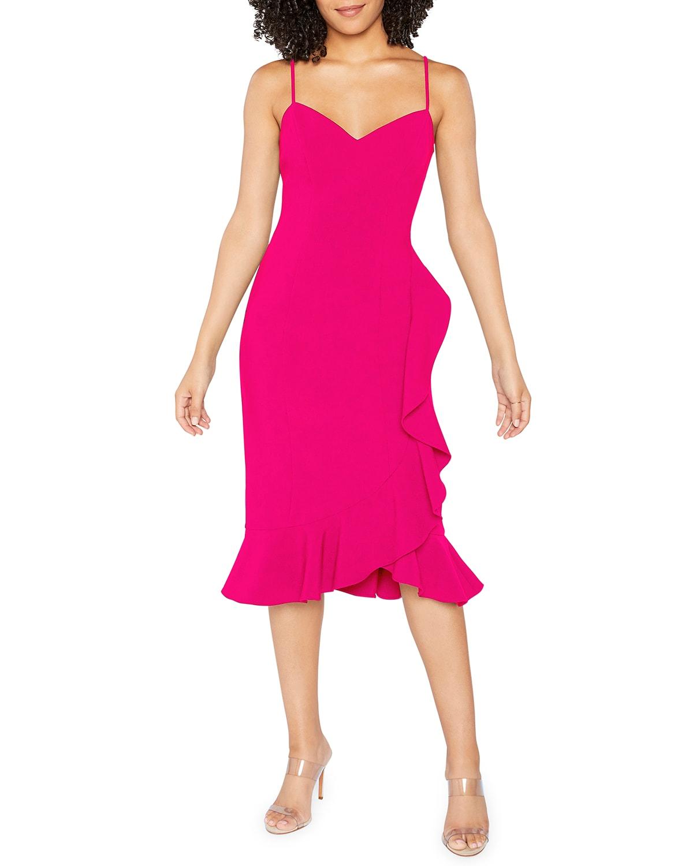 Laverna Fitted Midi Dress