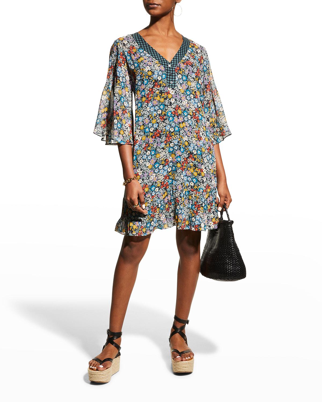 Divina Floral Tunic Dress