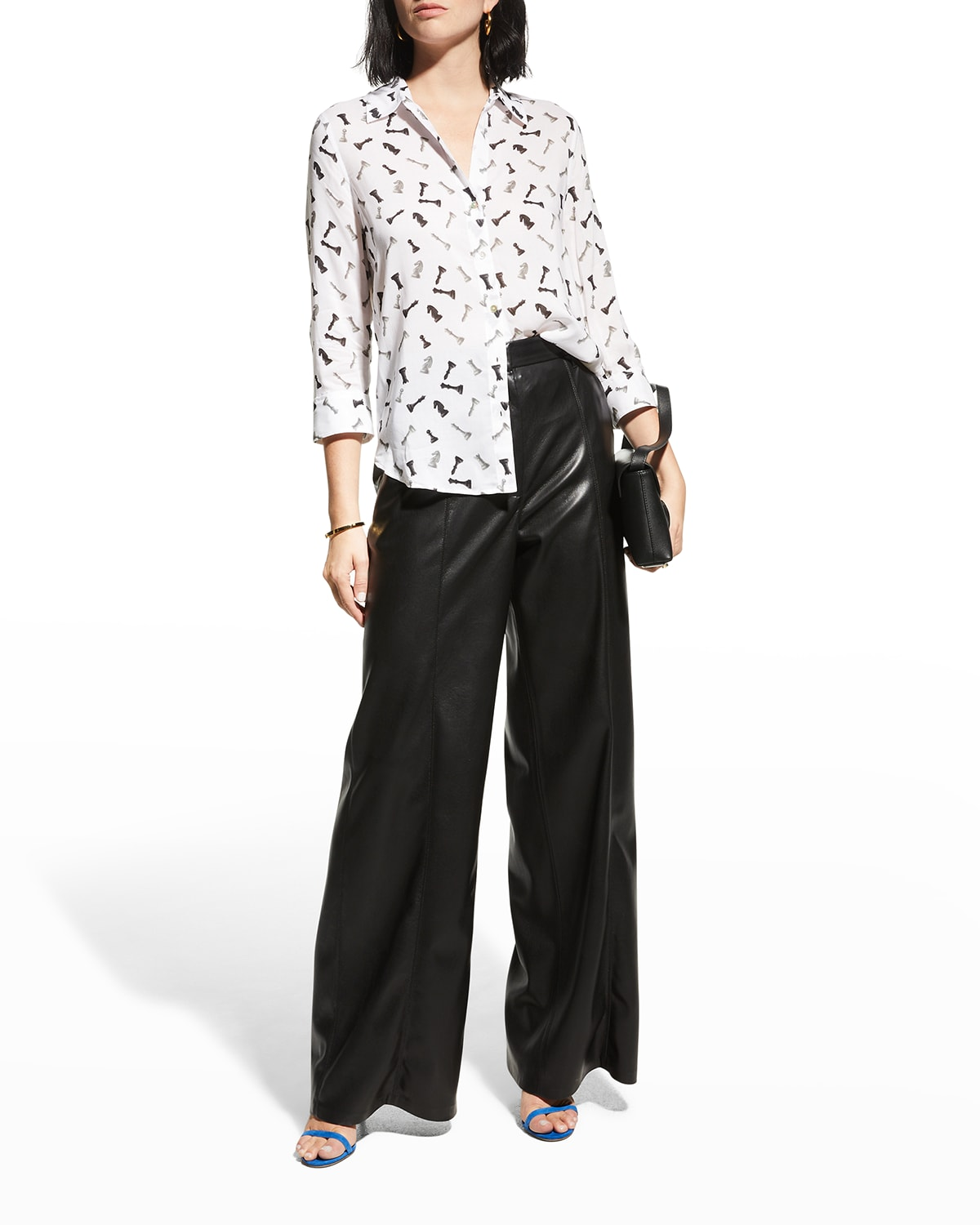 Camille 3/4-Sleeve Blouse