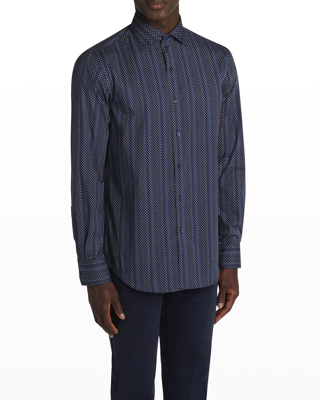 Men's Long-Sleeve Button Shirt