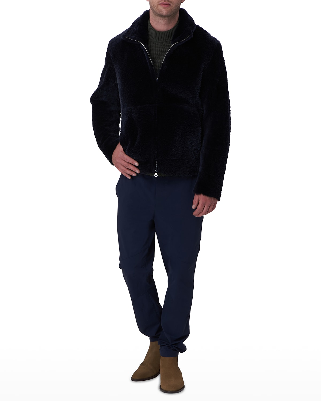 Men's Reversible Shearling Jacket