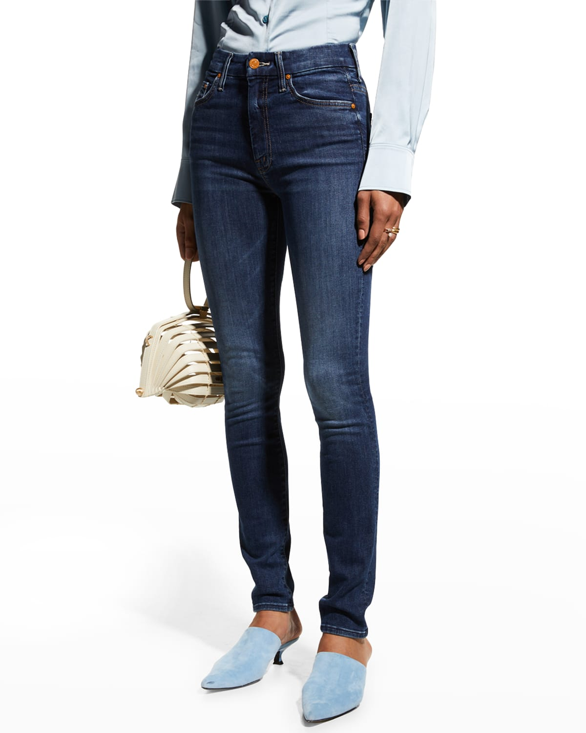 The High Waisted Looker Skinny Jeans