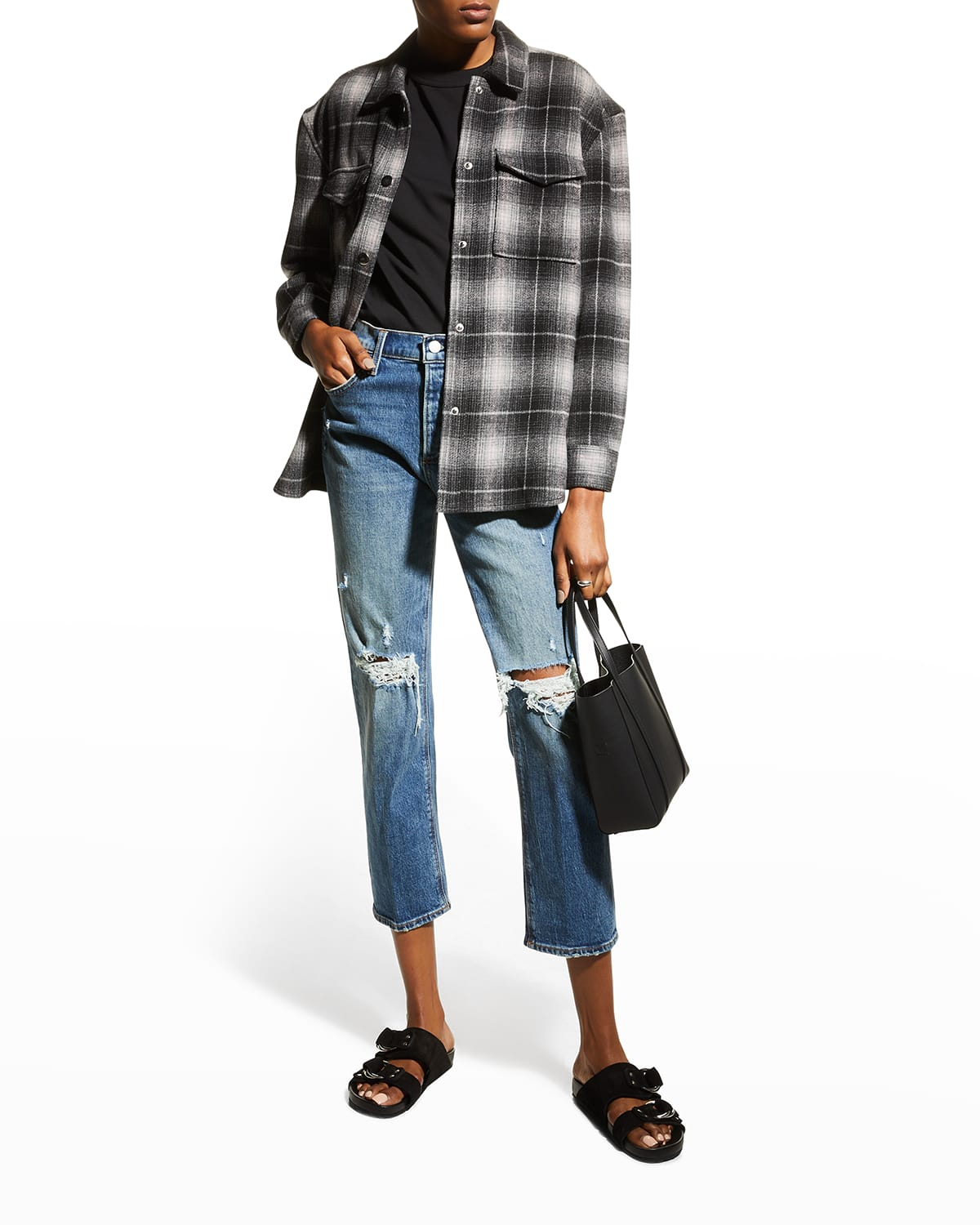 The Scout Distressed Boyfriend Jeans
