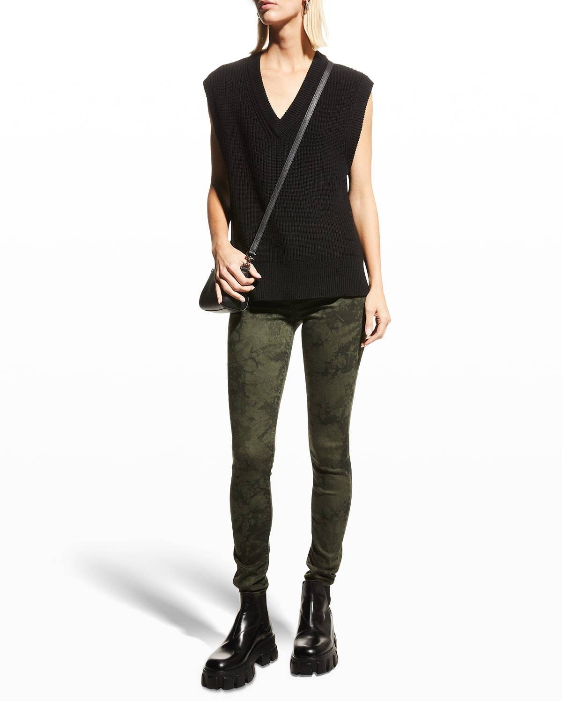 Gisele High-Rise Skinny Jeans