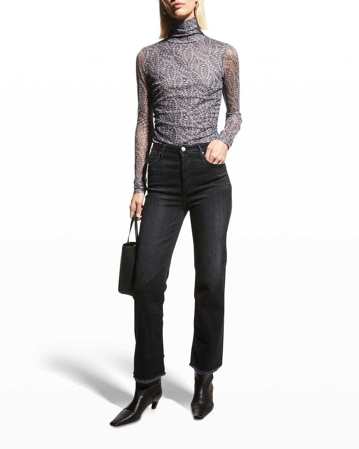 Marisa Relaxed Straight Fray Jeans