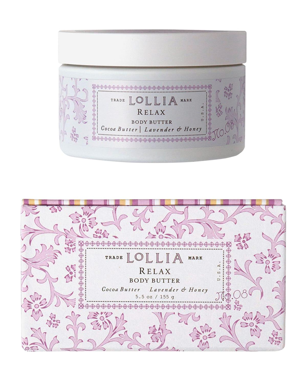 5.5 oz. Relax Lavender & Honey Body Butter