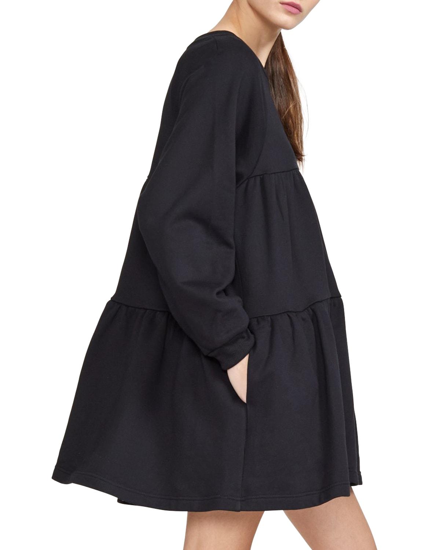 Vail Long-Sleeve Sweatshirt Dress