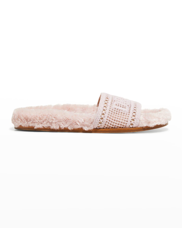 Navona Dream Faux Fur Cozy Sandals