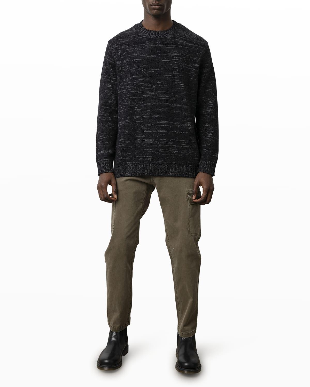 Men's Orrin Melange Crew Sweater