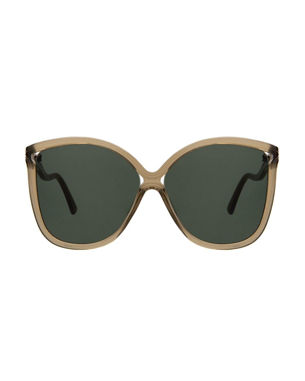 Nancy Acetate Butterfly Sunglasses