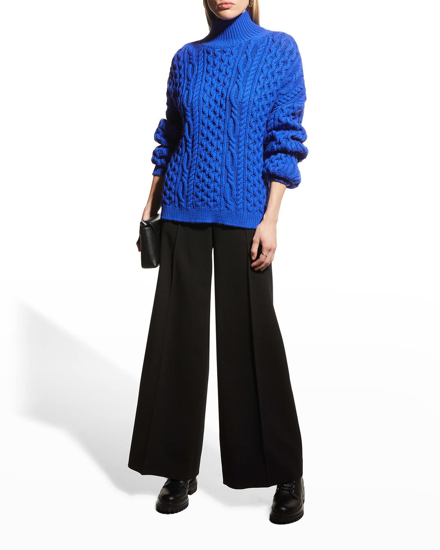 Kenny Turtleneck Oversized Pullover