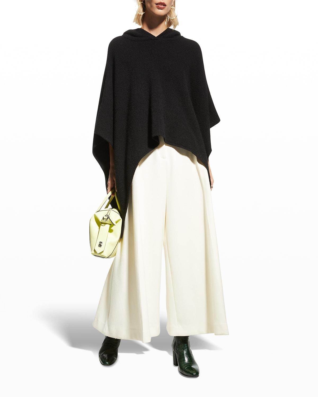 Zandra Hooded Pullover Poncho