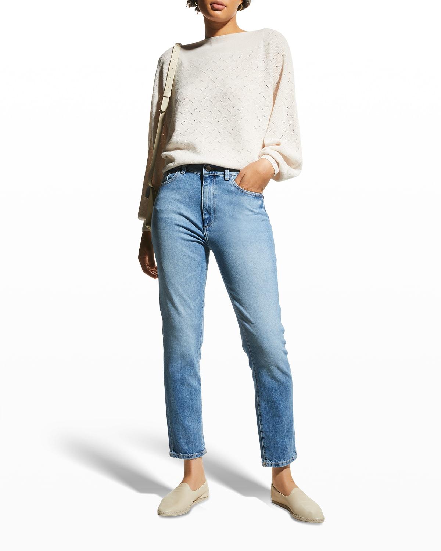 Bella Slim High-Rise Vintage Jeans