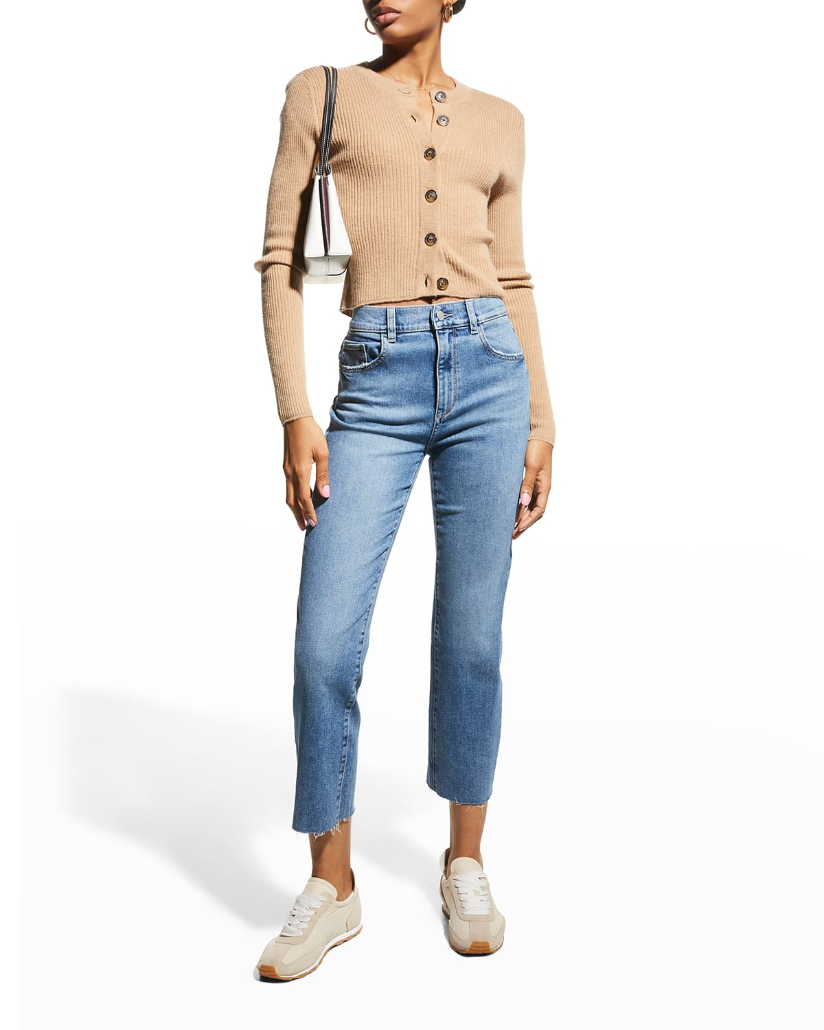 Patti Straight Ankle Jeans
