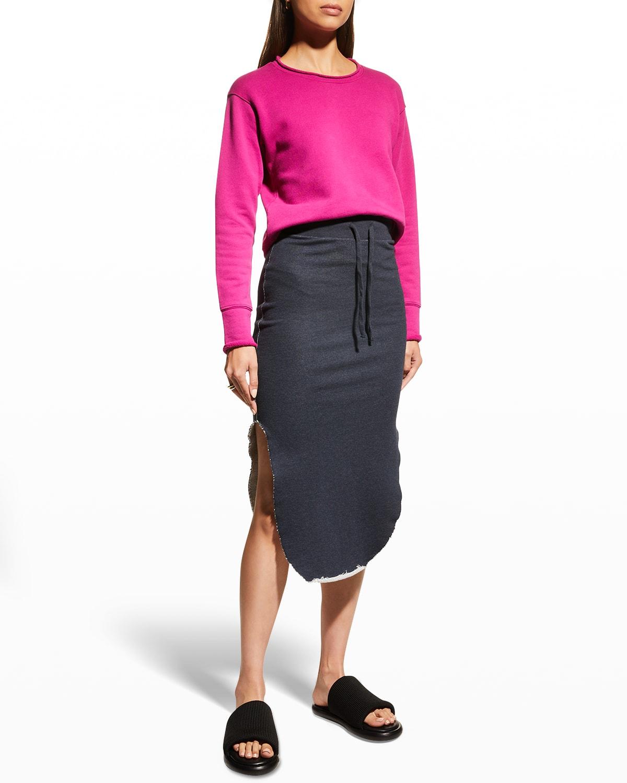Unforgettable Midi Fleece Skirt