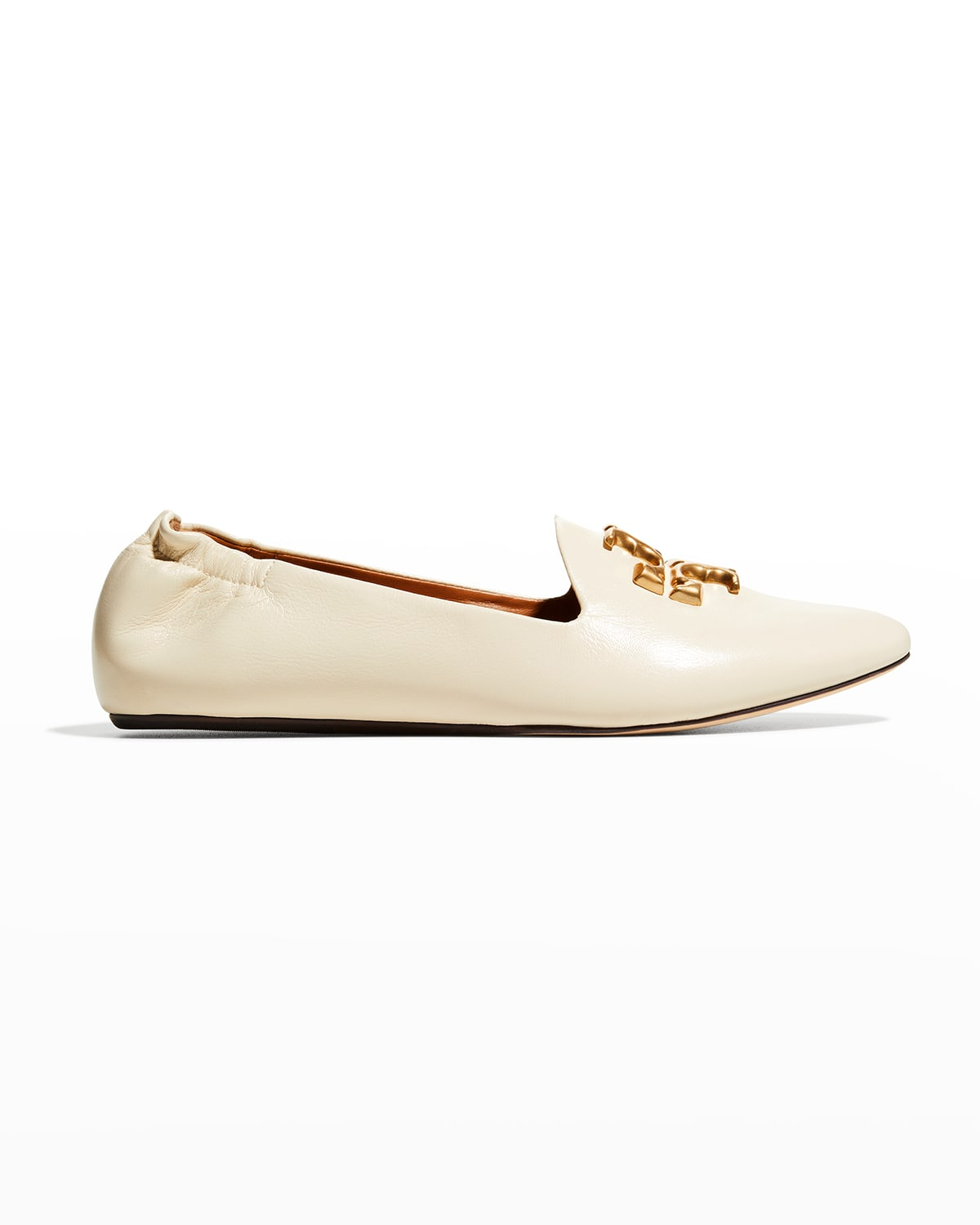 Eleanor Leather Medallion Loafers