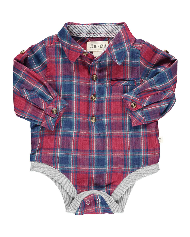 Boys' Jasper Woven Bodysuit