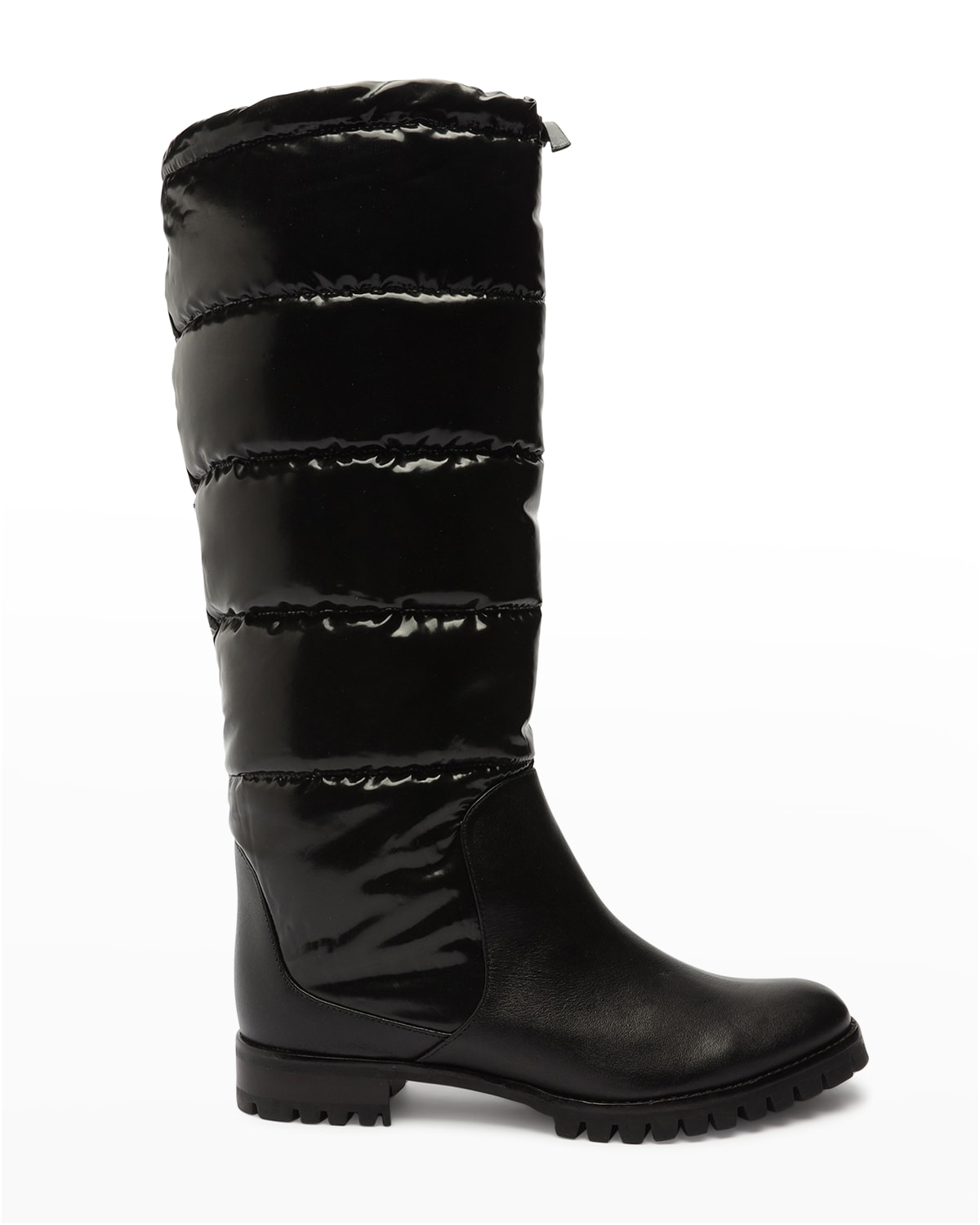 Clarita Puff Quilted Tall Boots