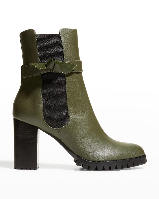 Clarita Knot Pull-On Chelsea Booties