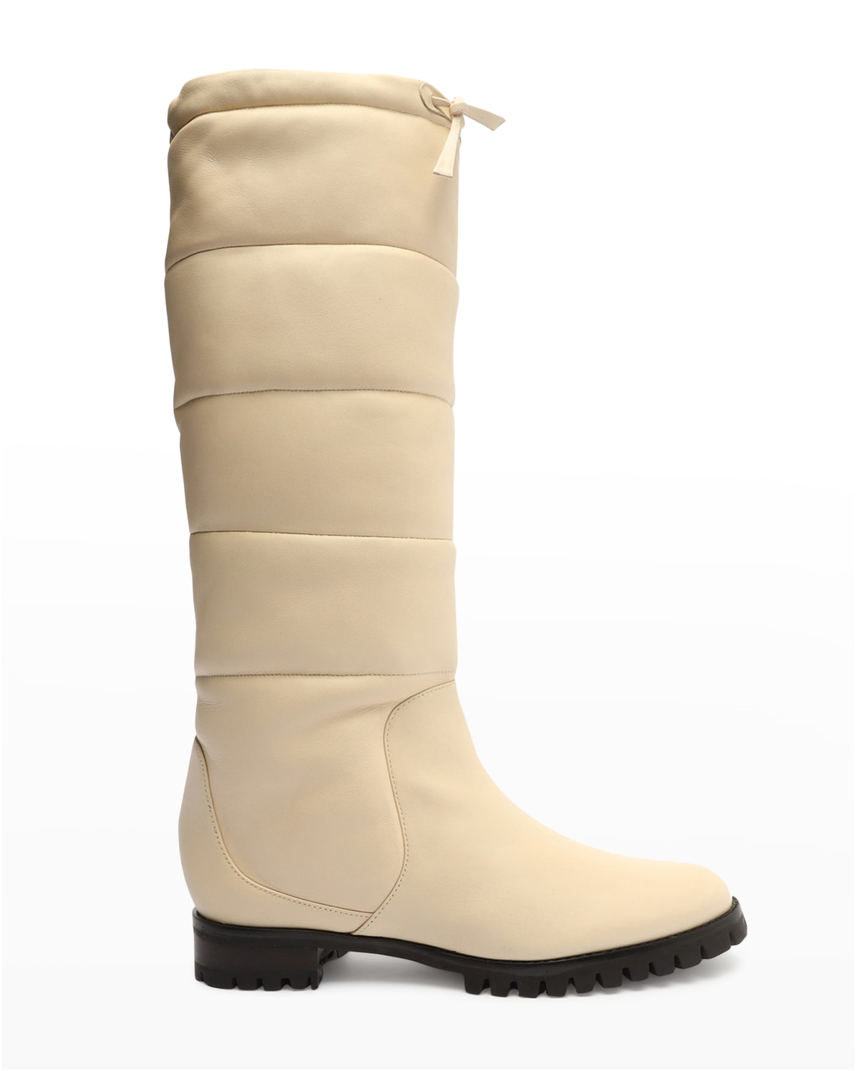 Clarita Puff Quilted Zip Tall Boots