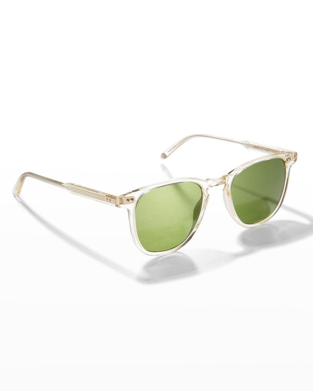 Men's Brooks Transparent Square Sunglasses