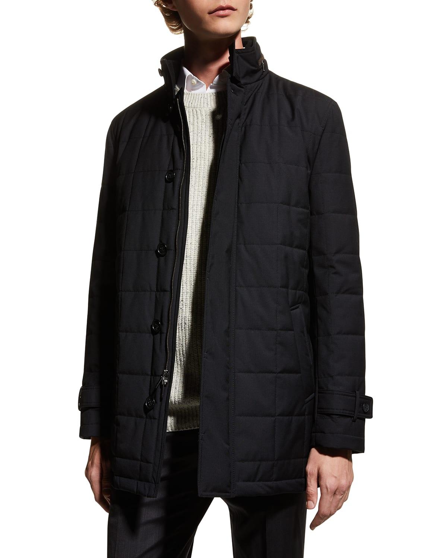 Men's Belmont Technical Wool Coat