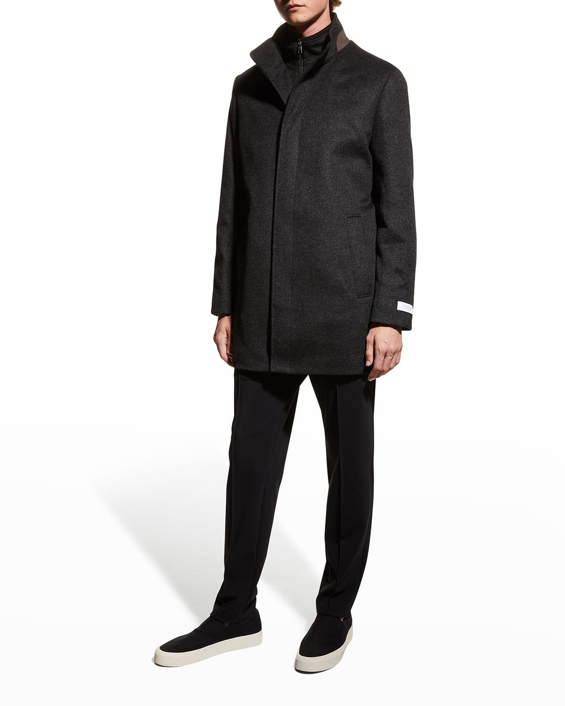 Men's Mont Royal Wool-Cashmere Coat
