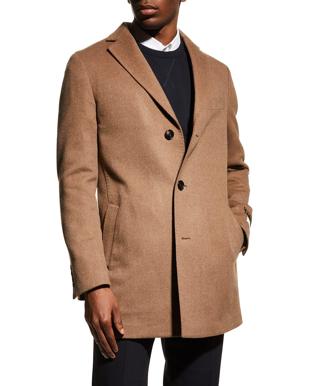 Men's Seth Double-Face Wool Overcoat